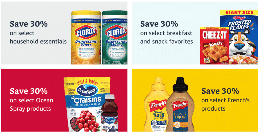 Prime Pantry: $10 off $60 + $6 off Five + Free Shipping and MORE!