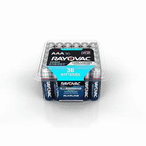 Rayovac 36-Pack AAA Alkaline Battery ONLY $6.97