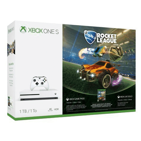 Xbox One S 1TB Console - Rocket League Bundle ONLY $177 **Lower Than Black Friday Price**