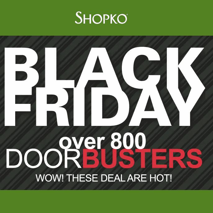Shopko Black Friday Sale Live Online NOW!!!