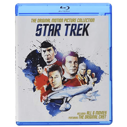 Star Trek: Original Motion Picture Collection [Blu-ray] Only $16.96 (Was $48.99)