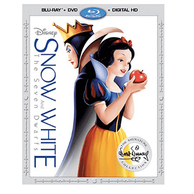 Snow White and The Seven Dwarfs [Blu-ray/DVD/Digital HD] Only $14.75 (Was $36.99)