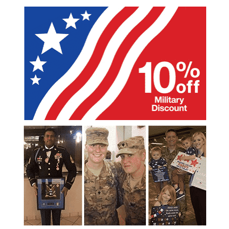 Target Offering Military 10% Discount on a Purchase