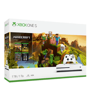 Microsoft Xbox One S 1TB Minecraft Bundle $199 + $60 in Kohl's Cash **Best Deal Available**