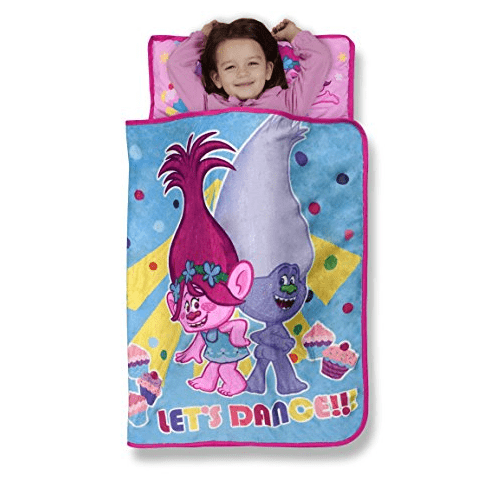 Trolls Cupcakes and Rainbows Toddler Nap Mat w/ Pillow & Blanket Only $8.81 (Was $19.99)