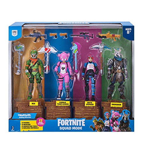 Fortnite Squad Mode 4 Figure Pack Only $39.99 **Available for Pre-Order**