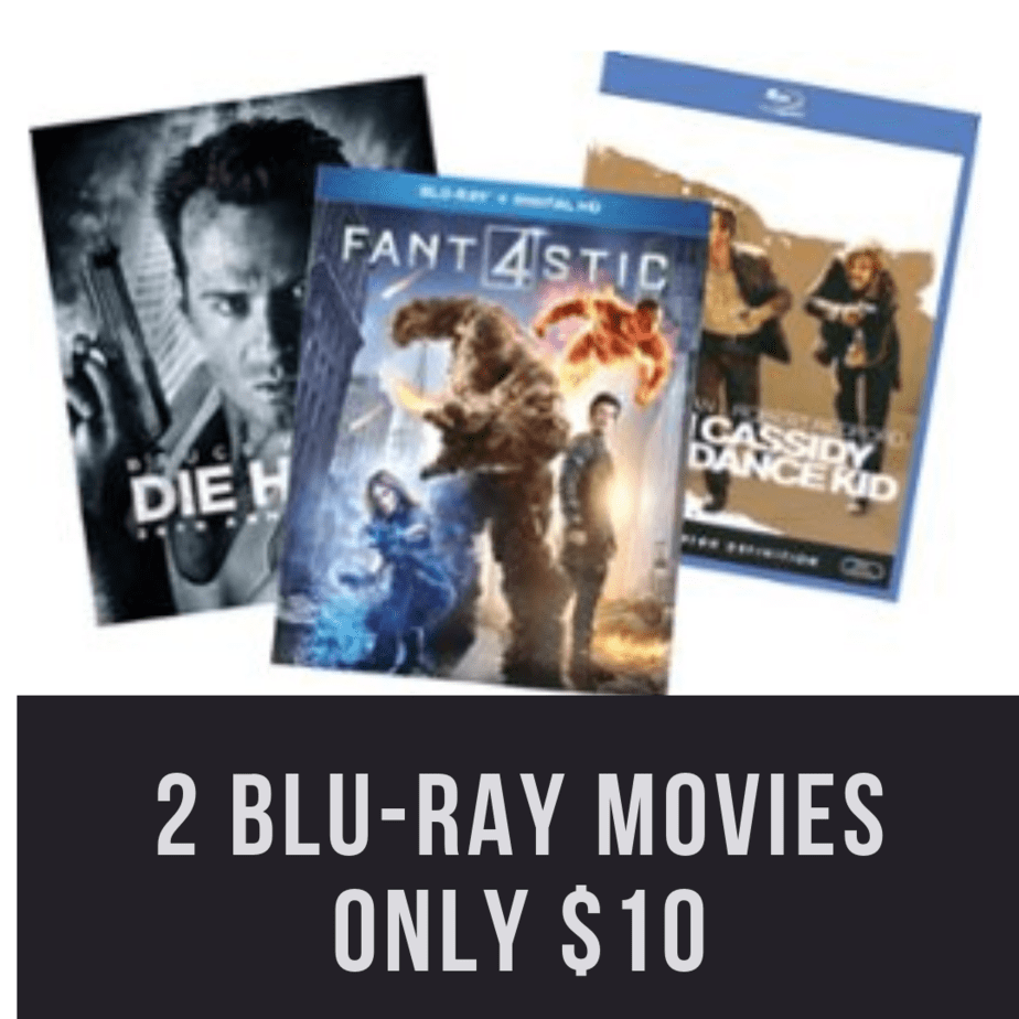 Best Buy: Select Blu-rays 2 for $10 **Die Hard, Big and More**