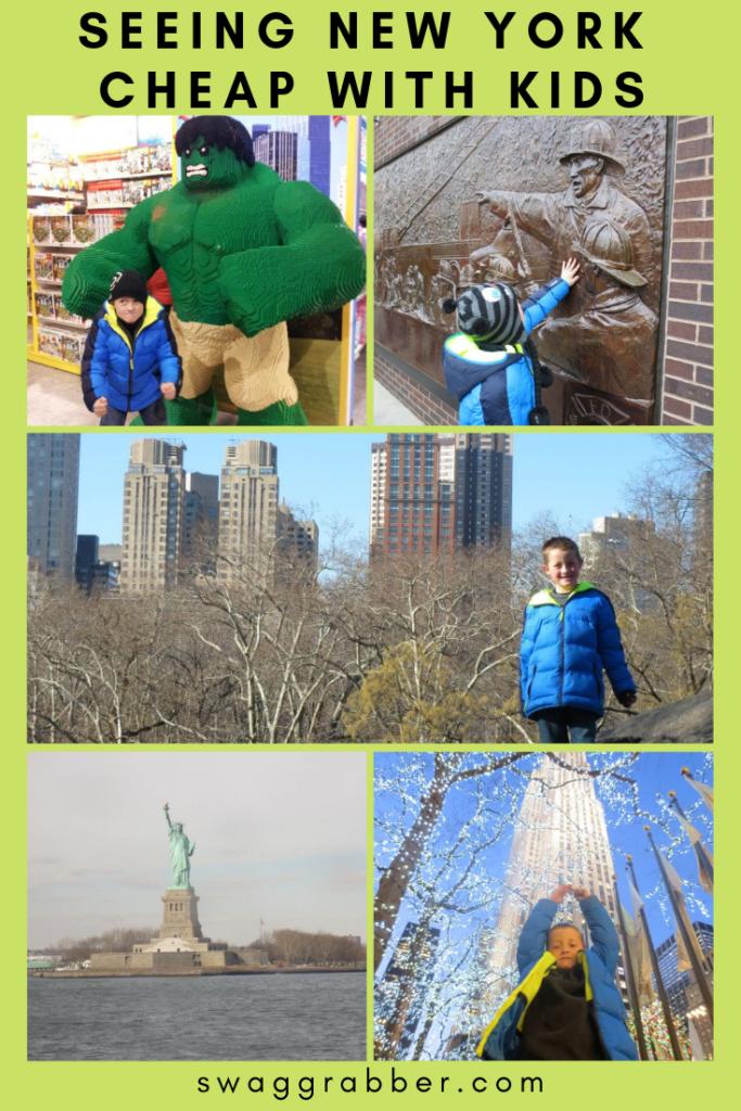 Seeing New York CHEAP w/ Kids