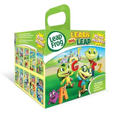 Leapfrog 10-dvd Mega Pack Only $26.97