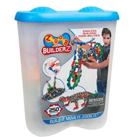ZOOB BuilderZ 250 Piece Kit Only $22.72 (Was $30.30)