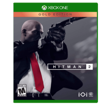 40% off Hitman 2: Gold Edition Game for Xbox One