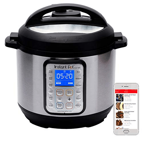 Instant Pot Smart WiFi 6 Quart Electric Pressure Cooker Only .99