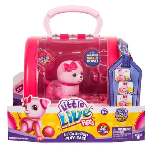 Little Live Pets Lil' Cutie Pup Only $8.83 (Was $24.99)