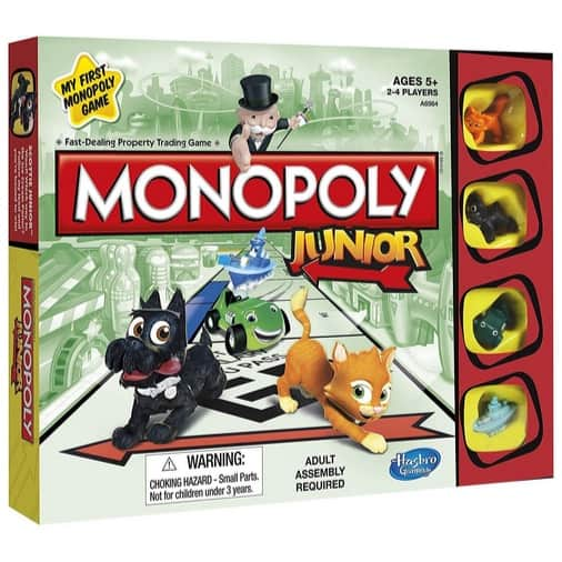 Monopoly Junior Board Game Now .71 (Was .99)
