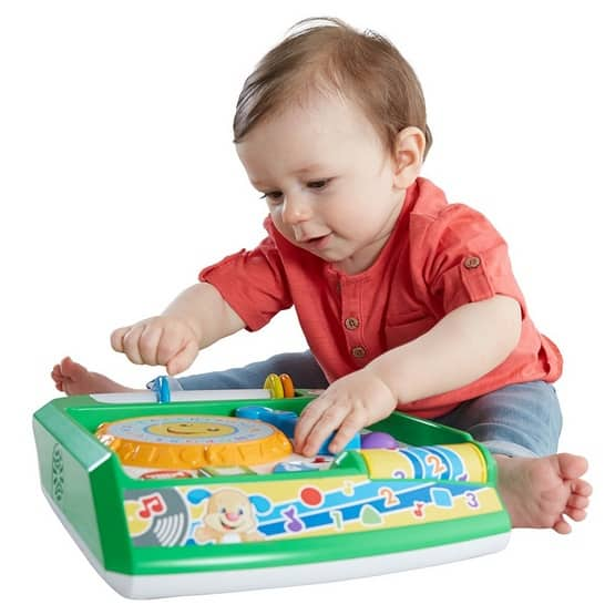 Fisher-Price Laugh & Learn Remix Record Player Only $13.40