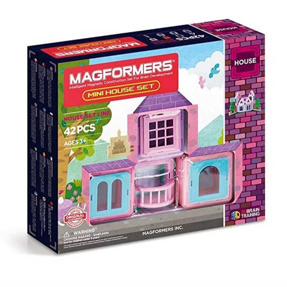 MAGFORMERS Mini House (42 Piece) Magnetic Building Set Only $32.99 (Was $59.99)