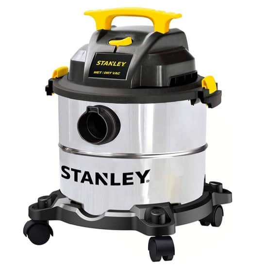 Stanley Wet/Dry Vacuum with Steel Tank Only $59.99