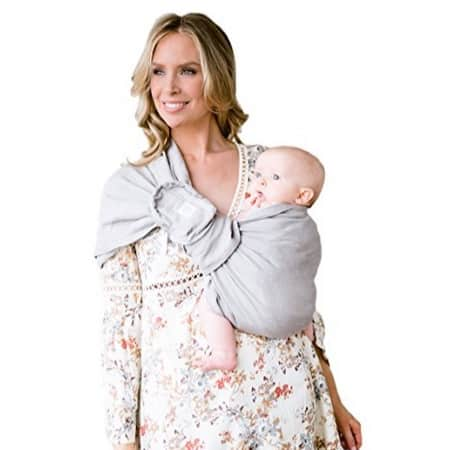 6b7b288c7c3 Amazon has the Ring Sling w  Removable Pocket by LILLEbaby – Silver straw  (Grey) marked down from  97.00 to  29.00 with free shipping.