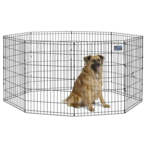 MidWest Foldable Metal Exercise Playpen Only $19.99 (Was $41.99)