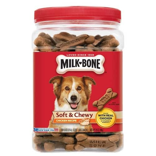 Up to 44% Off Milk-Bone ~ Soft and Chewy Treats For Dogs (25 oz) Only $6.50
