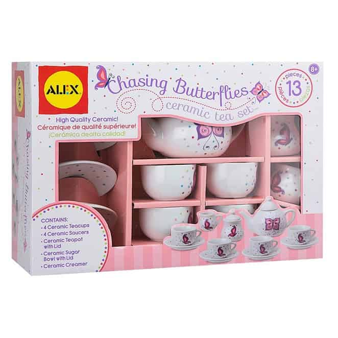 ALEX Toys Chasing Butterflies Ceramic Tea Set Only $11.77 (Was $24.99)
