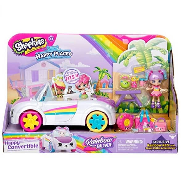Shopkins Happy Places Rainbow Beach Convertible Only $11.92 (Was $19.99)