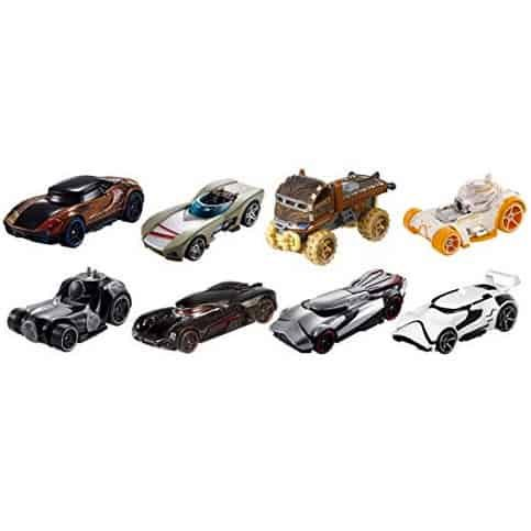 Hot Wheels Star Wars Character Cars (8 Pack) Only $11.44 (Was $31.99)
