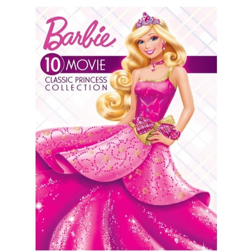 Barbie 10-Movie Classic Princess Collection Only $10.99 (Was $44.98)