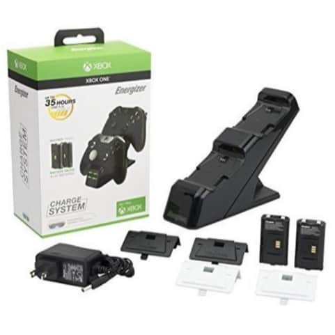 PDP Energizer Xbox One Controller Charger with Rechargeable Battery Packs Only $12.31 (Was $29.99)