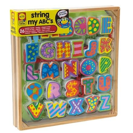 ALEX Toys Little Hands String My ABC's Only $8.99 (Was $22)
