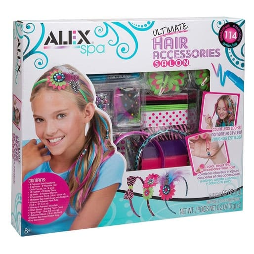 Sweet Deal on the ALEX Spa Ultimate Hair Accessories Salon