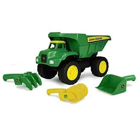 """AMAZING Deal on John Deere 15"""" Big Scoop Dump Truck with Sand Tools"""