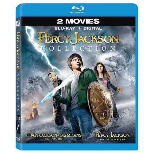 Percy Jackson Collection on Blu-ray Under $8