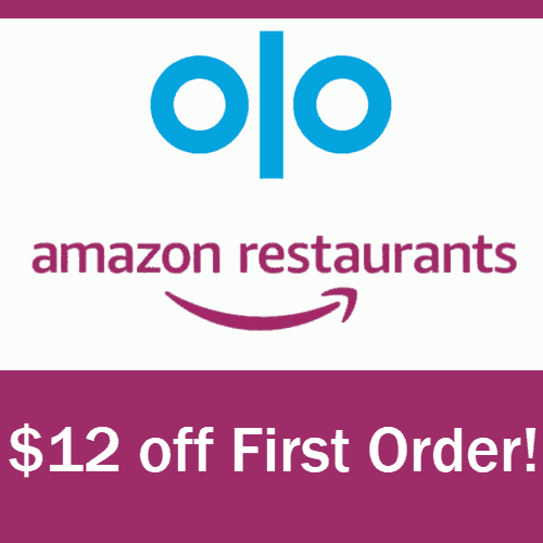 Amazon Restaurants: Extra $12 Off First Delivery
