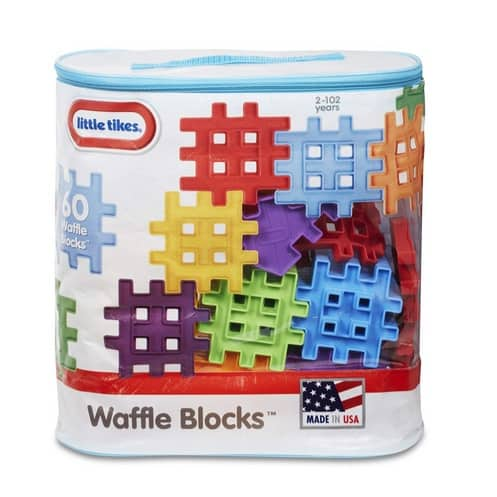 Little Tikes Waffle Blocks Bag Only $7.99 (Was $14.99)