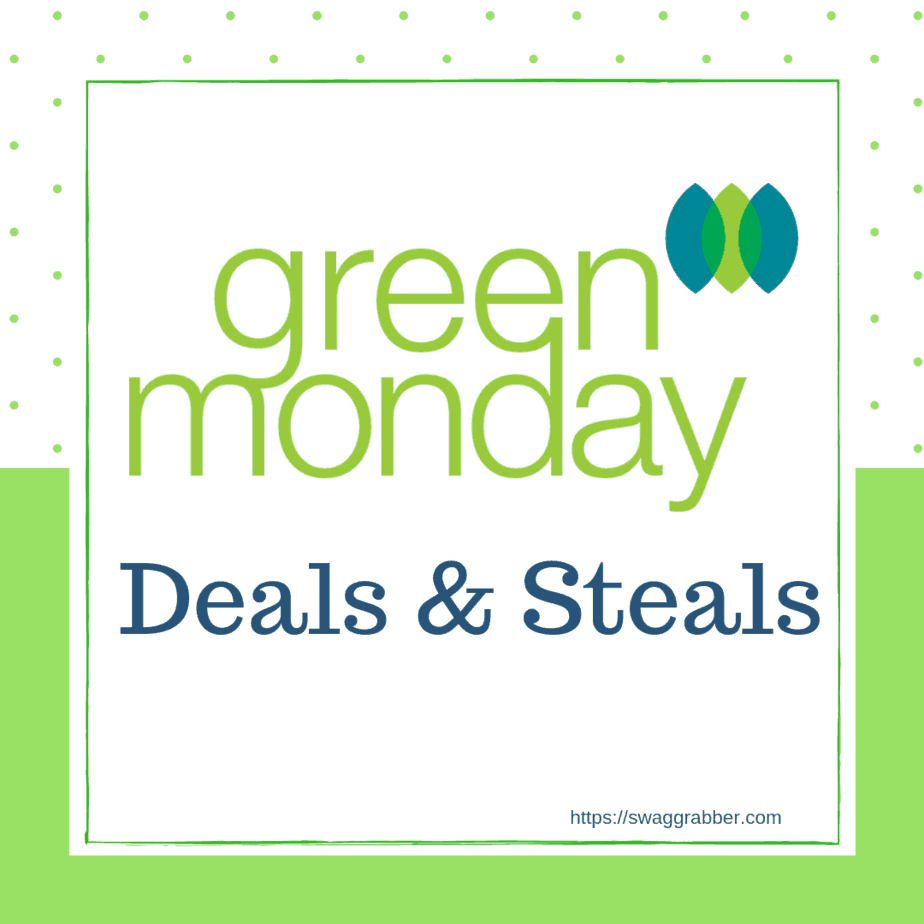 HUGE List of 2018 Green Monday Deals