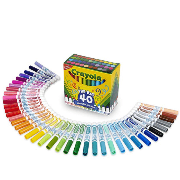 Crayola Ultra-Clean Washable Broad Line Markers $10.86