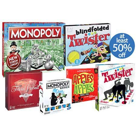 Walmart: Board Games on SALE - Prices Start at $4.88