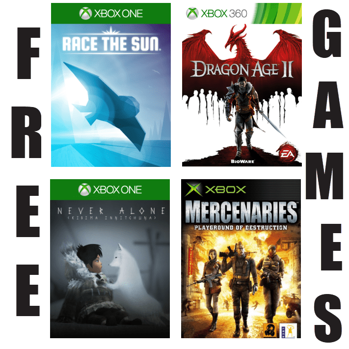 FREE Xbox Games Available for June 2019