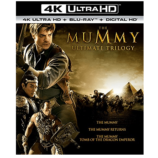 The Mummy Ultimate Trilogy [Blu-ray] Only $19.99 (Was $59.98)