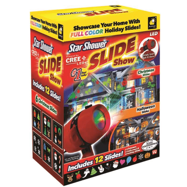 Ace Hardware: Christmas & Halloween Star Shower Slide Show, LED Light Projector ONLY $5.99 (Was $42)