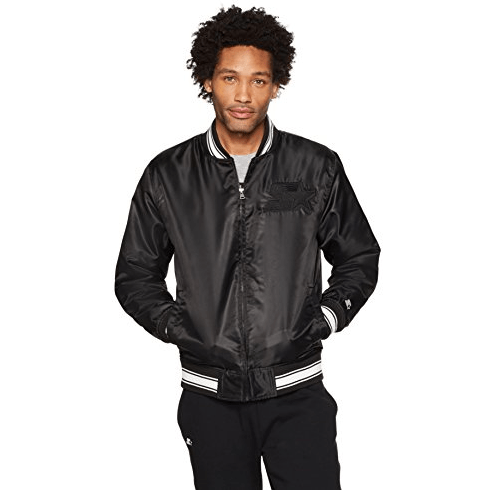 70% Off Starter Men's Insulated Bomber Jacket, Extra Large & Small Only