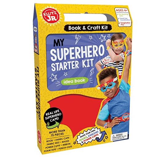 Klutz Jr. My Superhero Starter Kit Only $3.58
