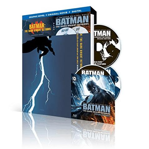 Batman: The Dark Knight Returns, Part 1 and Part 2 Blu-ray Set $12.99