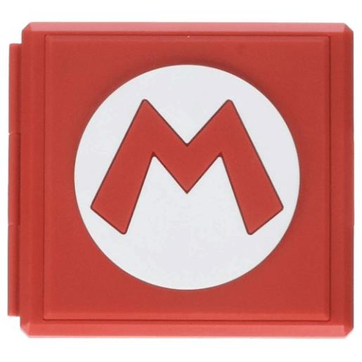 PowerA Premium Game Card Case - Mario - Nintendo Switch Only $5.99 (Was $12.99)