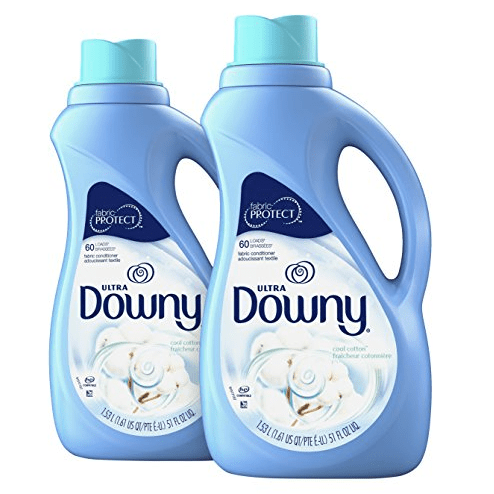 2 Pack of Downy Ultra Cool Cotton Liquid Fabric Conditioner $6.53 **Only $3.27 Each**