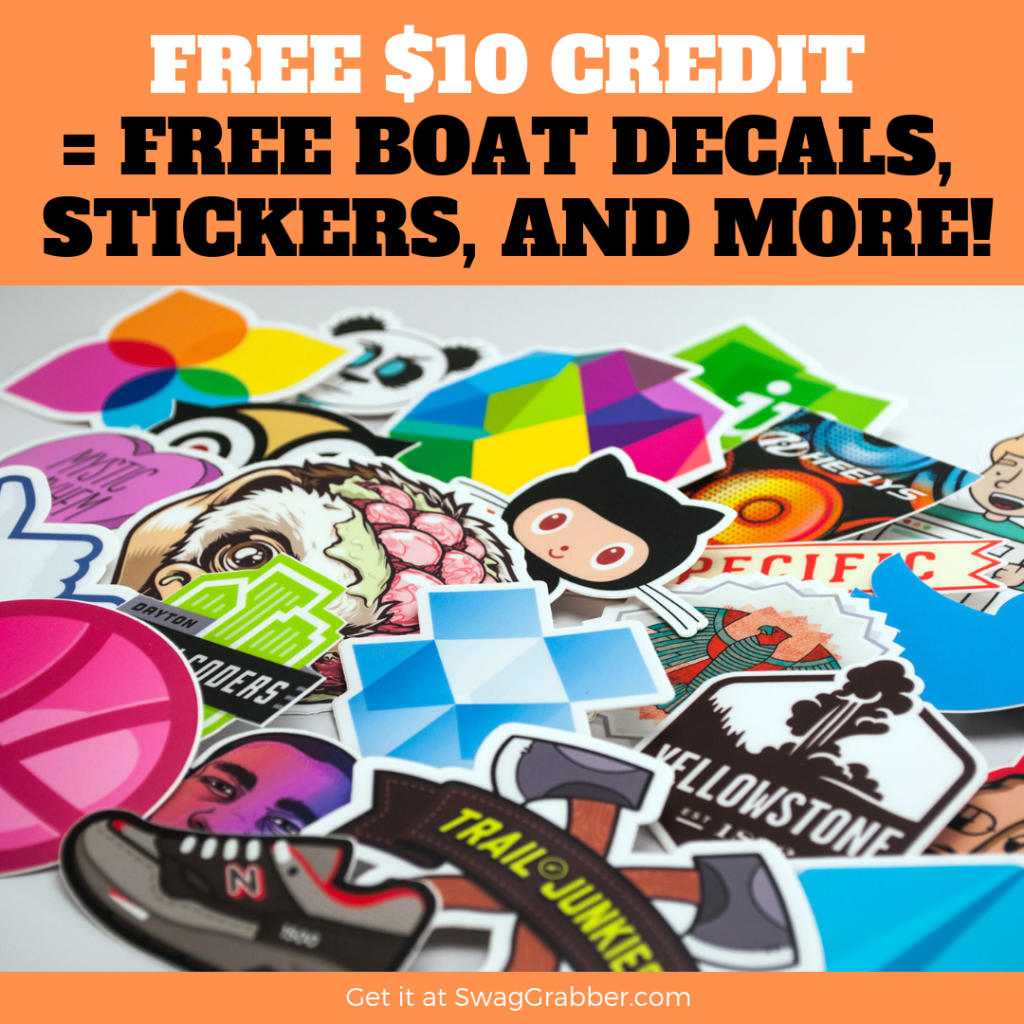 Get $10 Worth of Stickers for FREE