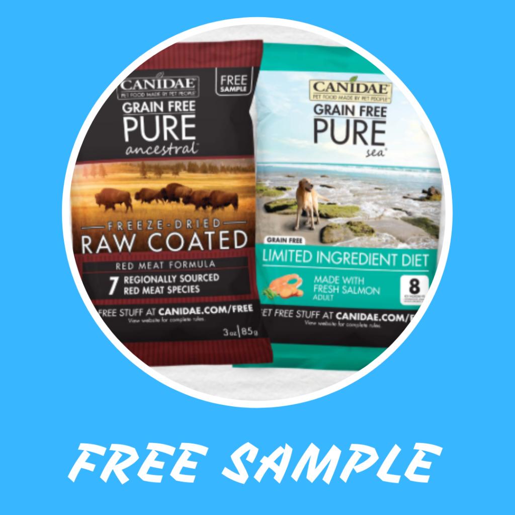 FREE Canidae Dog Food Sample