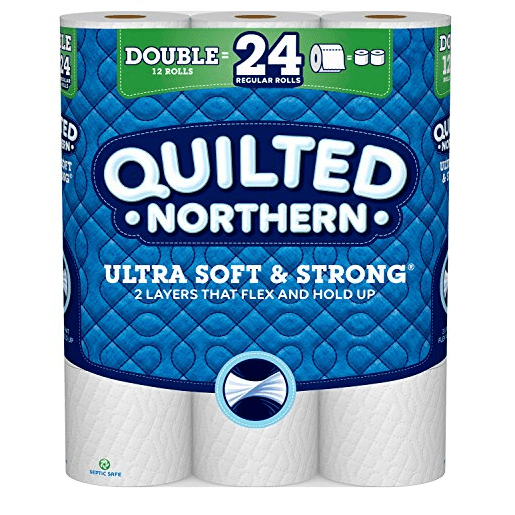 Prime Pantry Deal: Quilted Northern Ultra Soft & Strong Toilet Paper $0.20 Per Roll