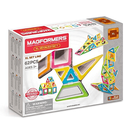 Magformers XL Neon 62Pc Set Deal: Prices Start at $44